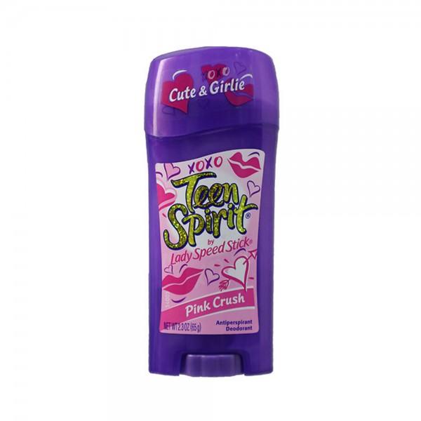 Mennen Teen Spirit Pink Scruch For Her Stick 2.3oz 292673-V001 by Mennen