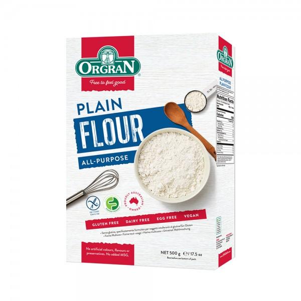 ORGRAN Plain Flour 500g 292891-V001 by Orgran