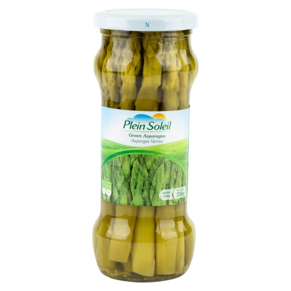 Plein Soleil Green Asparagus Canned 330G 293355-V001 by Plein Soleil