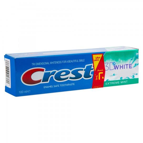 Crest 3D White Extreme Mint 50ml 296073-V001 by Crest