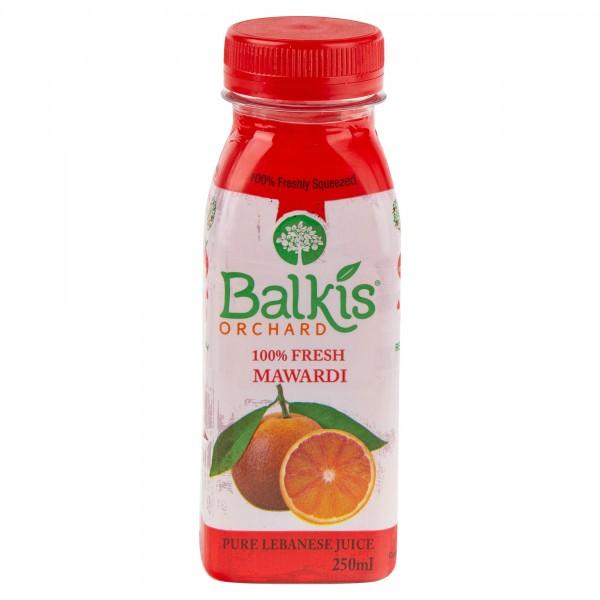 Balkis Orange Mawardi Juice Bottle 250ml 297368-V001