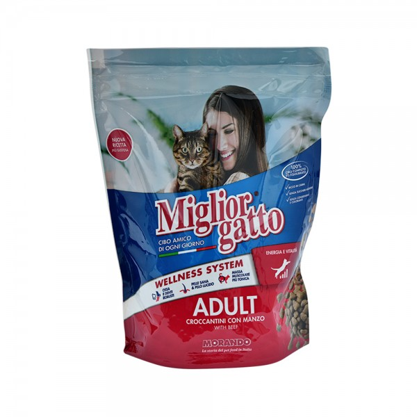 Miglior Cat Food Beef - 400G 297712-V001 by Miglior Cane