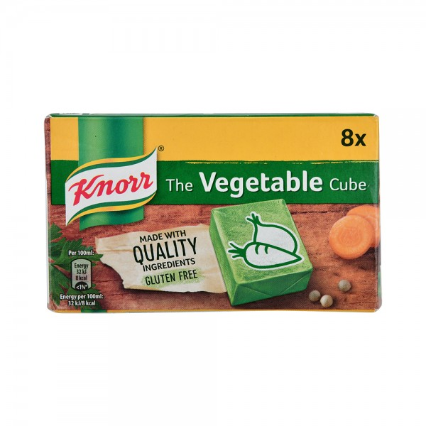 Knorr Cube Vegetable  - 80G 297936-V001 by Knorr