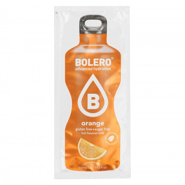 Bolero Instant Orange Drink Sugar Free 8G 300843-V001 by Bolero