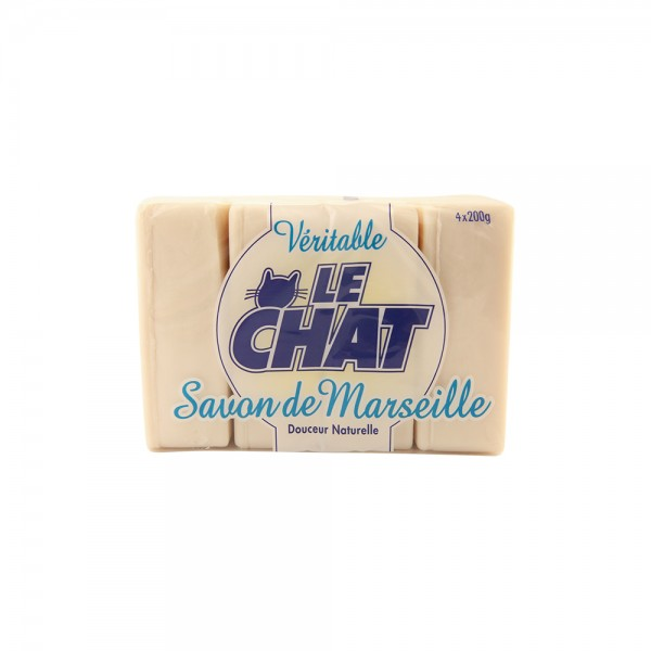 Le Chat Sdm Vanille Soap - 4X200G 301229-V001 by Le Chat
