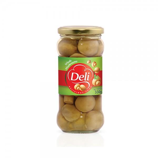 DELI Mushroom Whole In Glass Jar 330g 301460-V001 by DELI