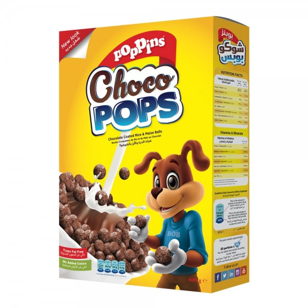 Poppins Choco Pops 600G 301860-V001 by Poppins
