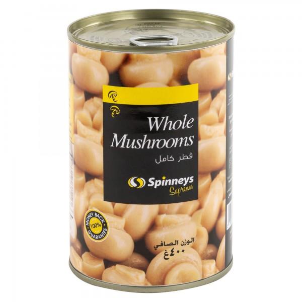 Whole Mushroom 400G 302800-V001 by Spinneys Food