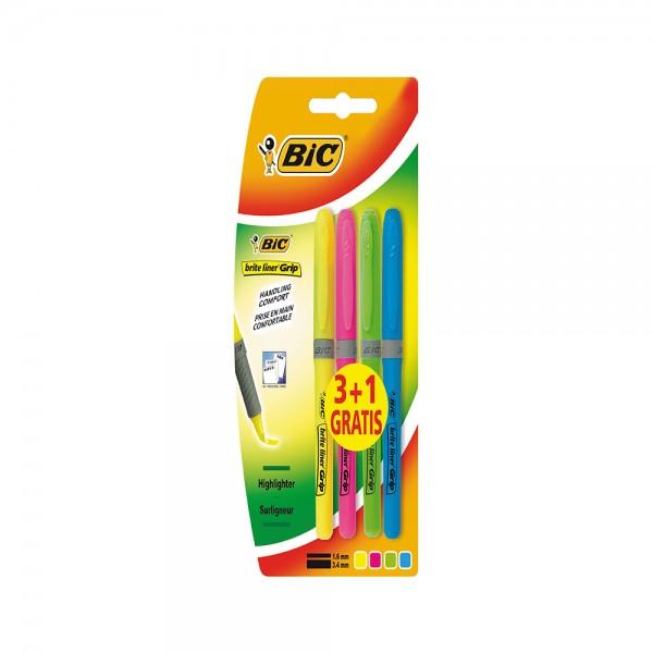 BRITELINER GRIP BLISTER ASSTD 303215-V001 by Bic