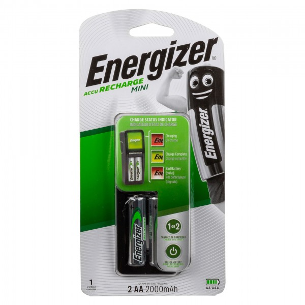 CHARGER MINI+BATTERIE AA 303717-V001 by Energizer