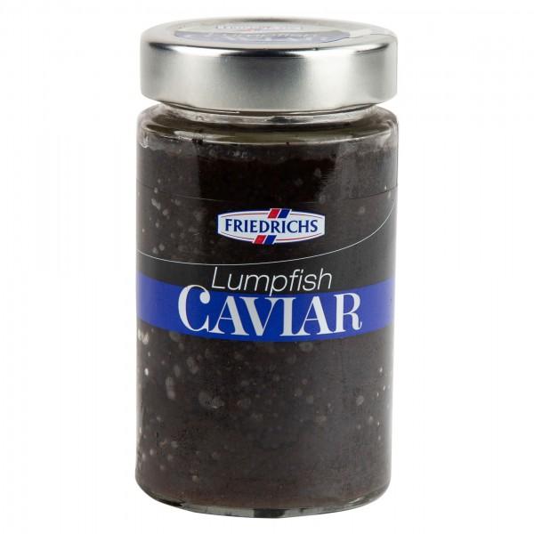 Friedrichs Lumpfish Caviar Black 100G 304436-V001 by Friedrichs