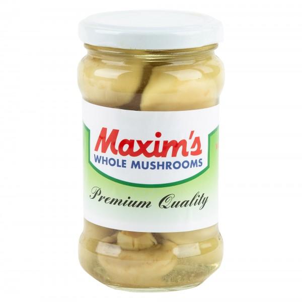 Maxim's Mushrooms Whole In Jar 314ml 304727-V001