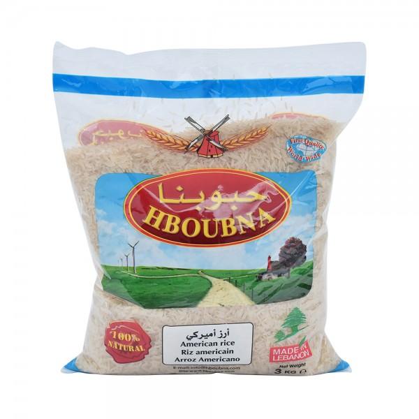 Hboubna American Rice 3kg 305235-V001 by Hboubna