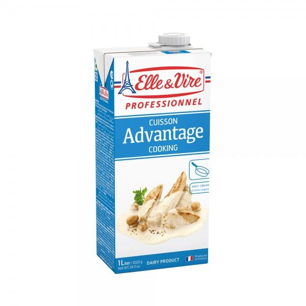 Elle & Vire Cooking Cream 1L 305435-V001 by Elle & Vire