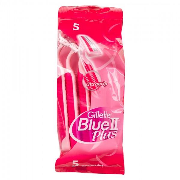 Gillette Venus Blue II Plus Ultra Grip Disposable Razor 5 count 305597-V001 by Gillette