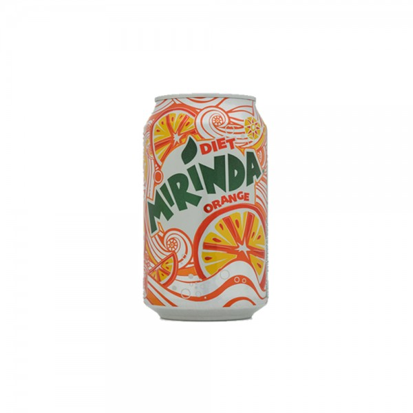 Mirinda Orange Can Diet 330ml 305907-V001 by Mirinda