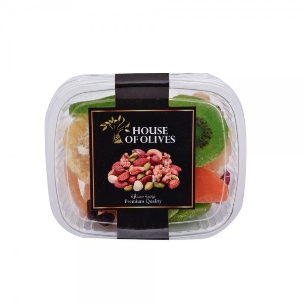 House Of Olives Exotic Dry Fruits Mix Packed In A Plastic Box 150G 306577-V001 by Spinneys Cheese Counter