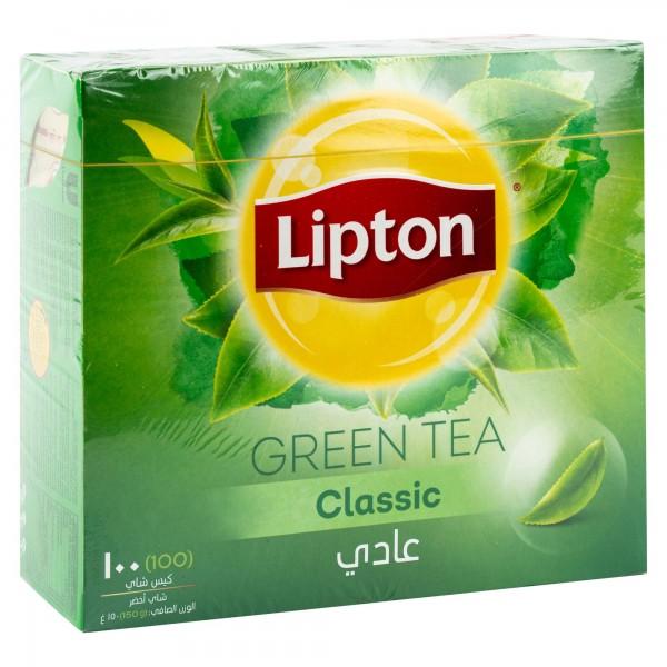 Lipton clear Green Tea Pure 100 Sachets 307214-V001 by Lipton