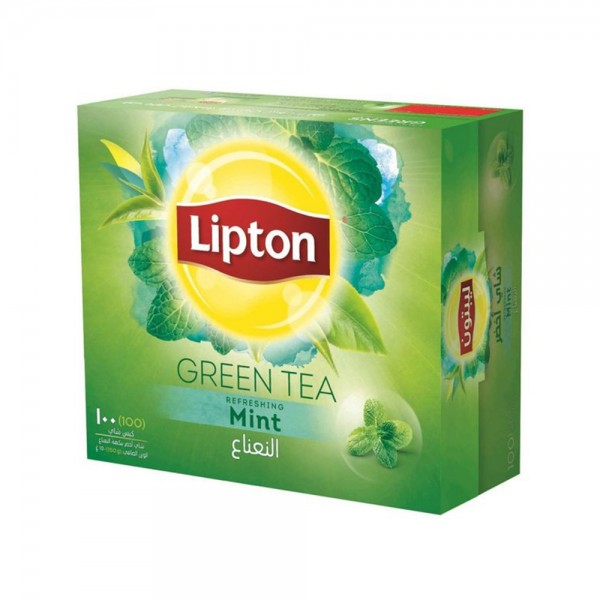 Lipton Clear Green Tea With Mint 100s 307468-V001 by Lipton
