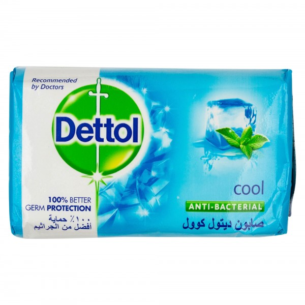Dettol Anti-Bacterial Bar Soap Cool 165G 309054-V001 by Dettol