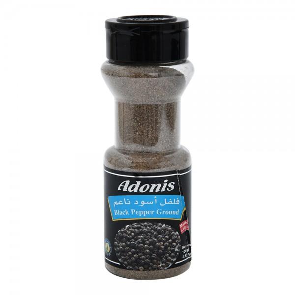 Adonis Black Pepper Ground Jar  - 110G 309260-V001 by Adonis Spices