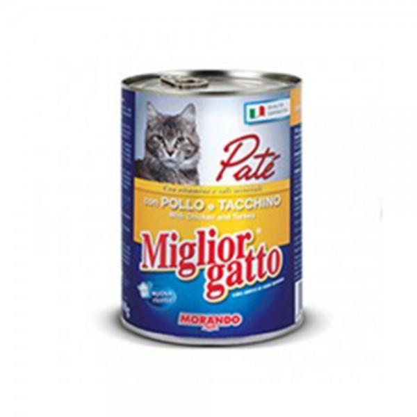 Miglior Cat Food Chicken And Turkey - 405G 310362-V001 by Miglior Cane