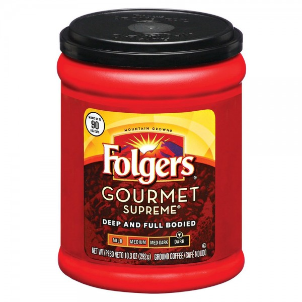 Folgers Gourmet Supreme Ground Coffee 10.3Oz 311263-V001 by Folgers