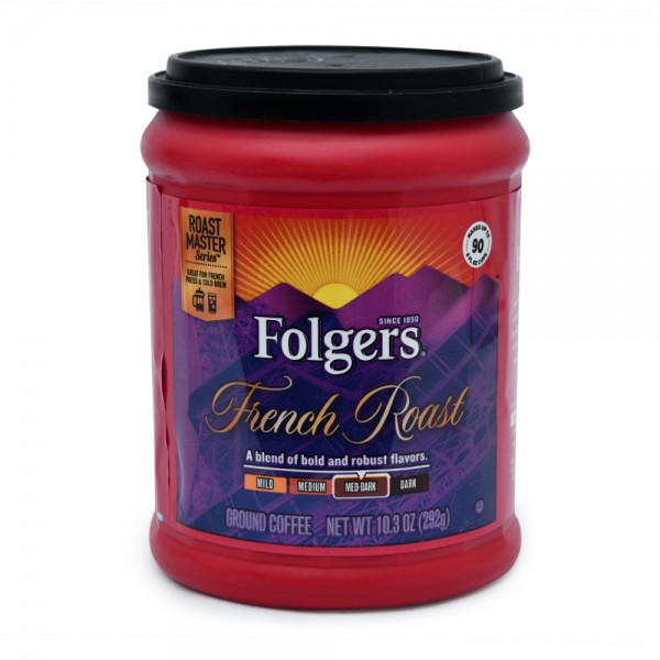 Folgers French Roast Ground Coffee 11.5oz 311264-V001 by Folgers