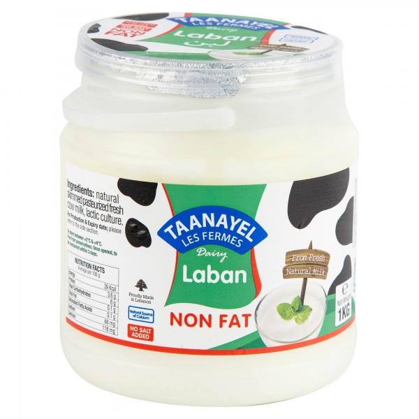 Taanayel Les Fermes Laban Non Fat 1Kg 311630-V001 by Taanayel Les Fermes