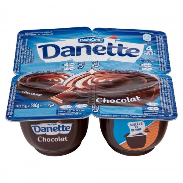 Danone Danette Chocolate Dessert 90G 311791-V001 by Danone