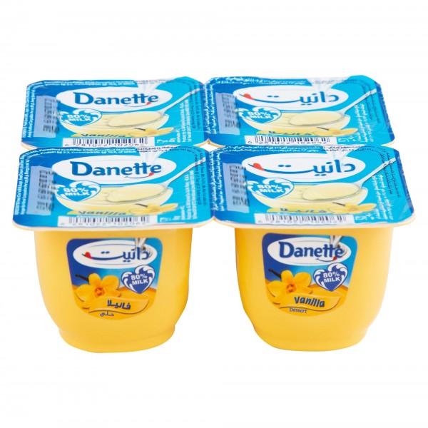 Danette Vanilla Cream Dessert 90G 311792-V001 by Danone