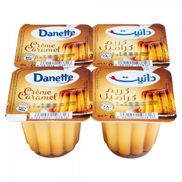 Danette Caramel Cream Dessert 80G 311795-V001 by Danone