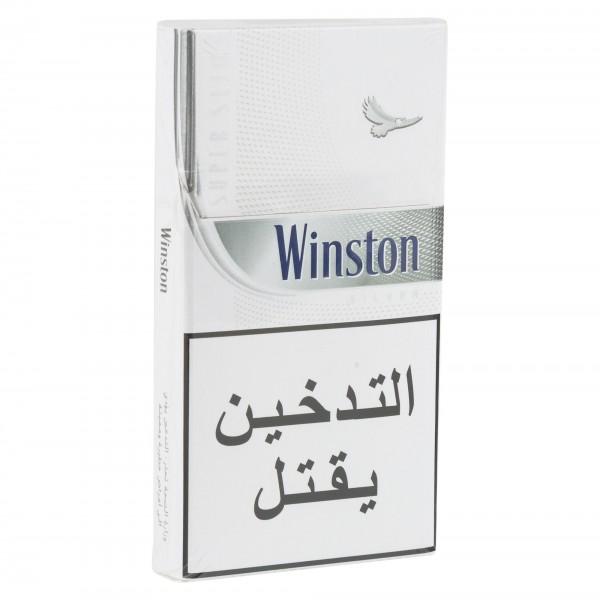 Winston Silver Super Slims Cigarettes 1 Pack 311898-V001 by Winston