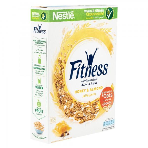 Nestle Fitness Honey & Almonds Breakfast Cereal 355G 312051-V001 by Nestle