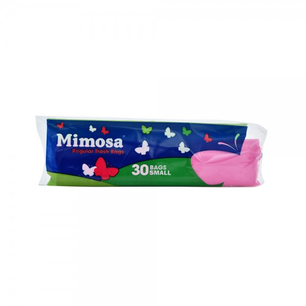 Mimosa Trash Bags Small Pink 30 Count 312067-V001 by Mimosa