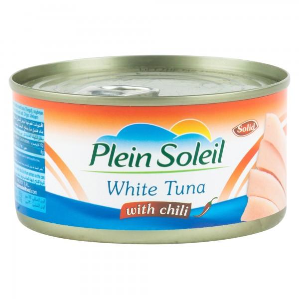 Plein Soleil White Tuna With Chili Canned 185G 312216-V001 by Plein Soleil