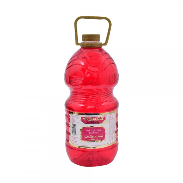 Kassatly Rose Syrup Galon - 3.4Kg 313089-V001 by Kassatly Chtaura