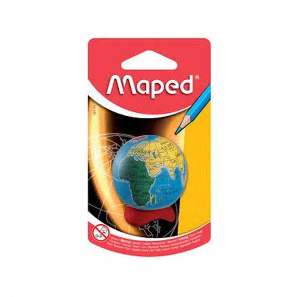 Maped Sharpener 1 Hole Globe Blister 1PC 313359-V001 by Maped