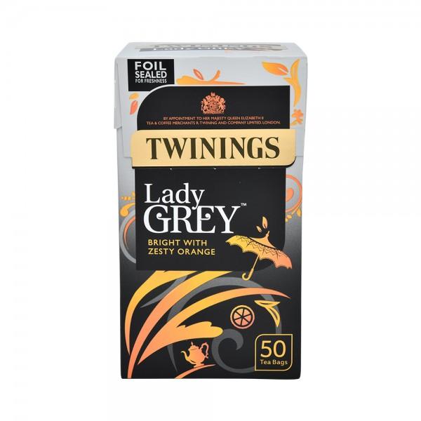 Twinings Lady Grey 125G 50 Tea Bags 313694-V001 by Twinings