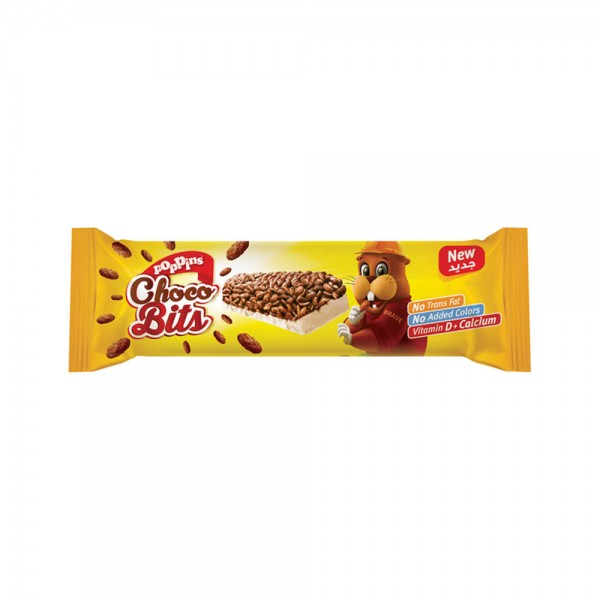 Poppins Choco Bits Cereal Bar 25G 314879-V001 by Poppins