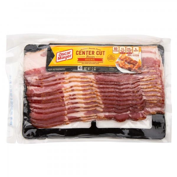 Osacr Mayer Center Cut Bacon Original 12oz 316668-V001