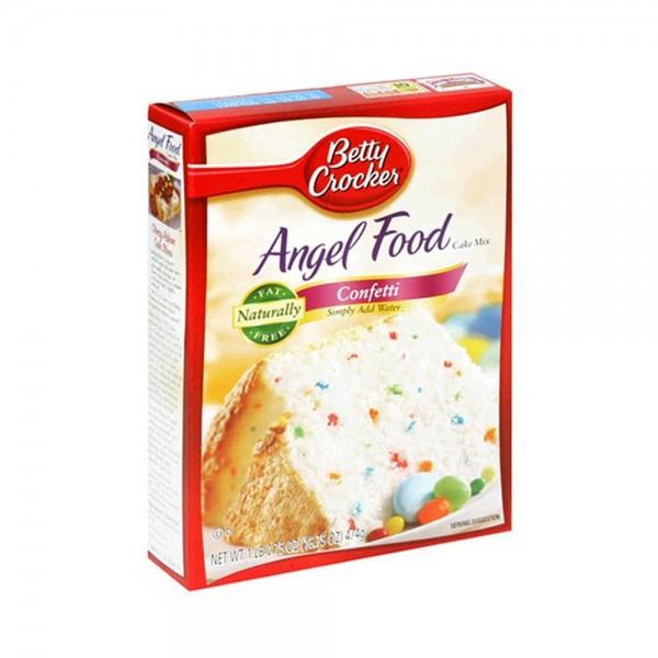 CAKE MIX ANGEL FOOD CONFETTI 319176-V001 by Betty Crocker