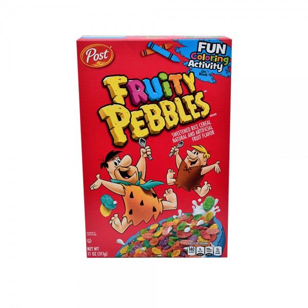 Post Pebbles Fruity Pebbles Cereal 11oz 320397-V001 by Post