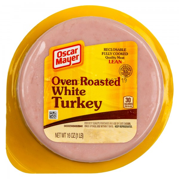 Oscar May Turkey-Oven Roasted 16 Slices 322761-V001