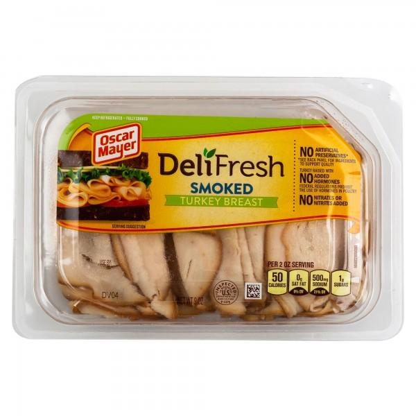 Oscar Mayer DeliFresh Smoked Turkey Breast Tray 9oz 322764-V001