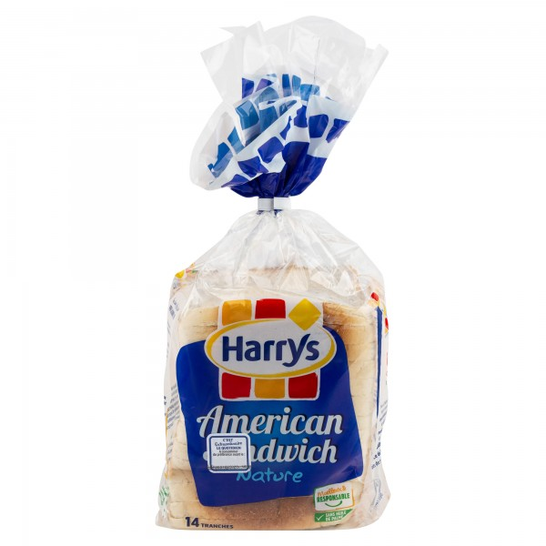 Harry's American Sandwich Nature 550G 322885-V001 by Harrys