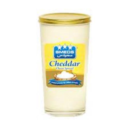 Smeds Cheddar Cheese Spread Jar 240g 322956-V001 by Smeds