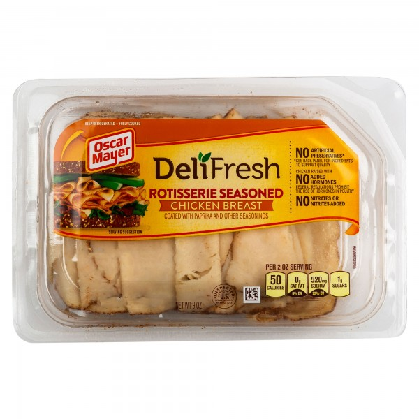 Oscar Mayer Deli Shaved Rotisserie Chicken 9Oz 323221-V001 by Oscar Mayer
