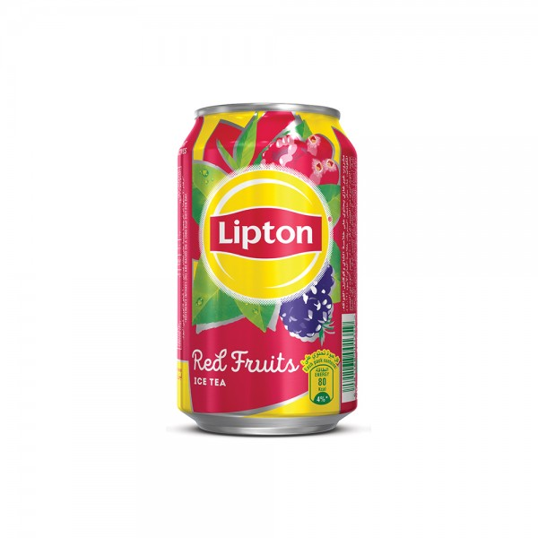 Lipton Ice Tea With Red Fruit Can 33cl 323717-V001 by Lipton