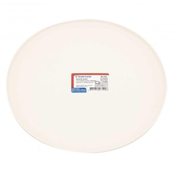 Ucsan Round Plate M-271 - 20.5Cm 323746-V001